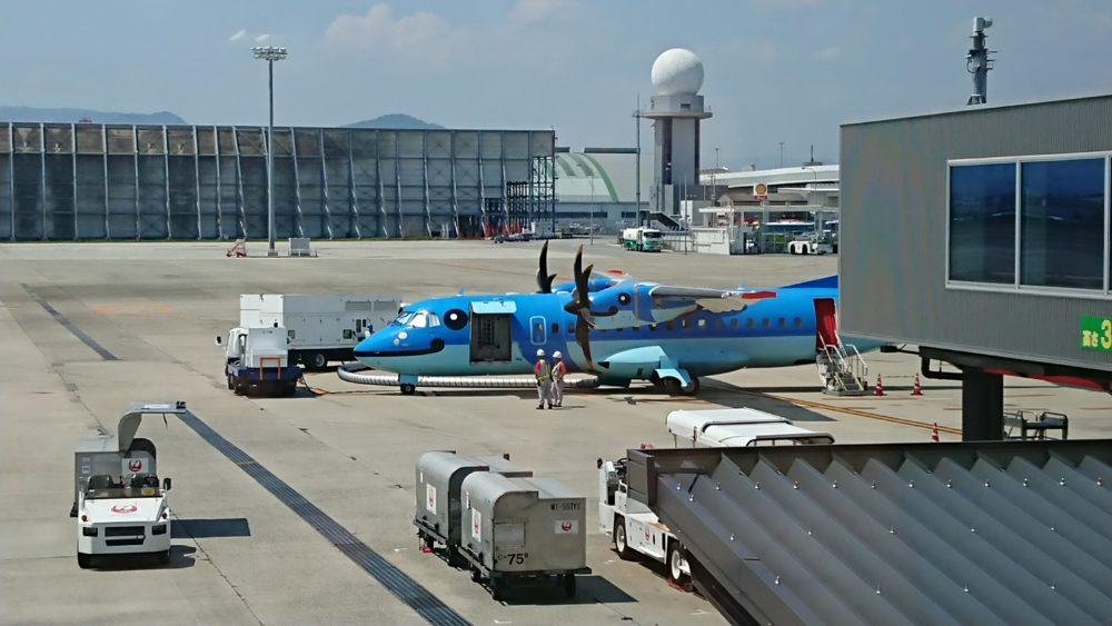 天草エアラインの飛行機