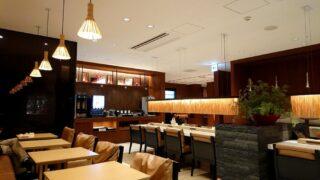 JAL CLUB ESTの特典で利用した小松空港サクララウンジ