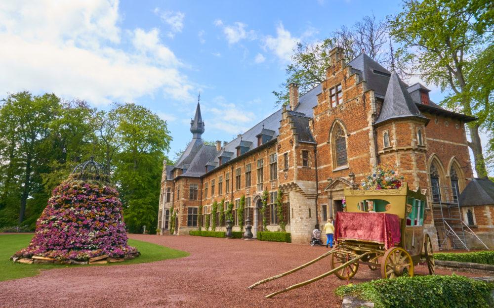 ベルギーのグロートベイハールデン城