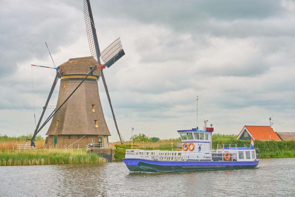 オランダキンデルダイクのボート