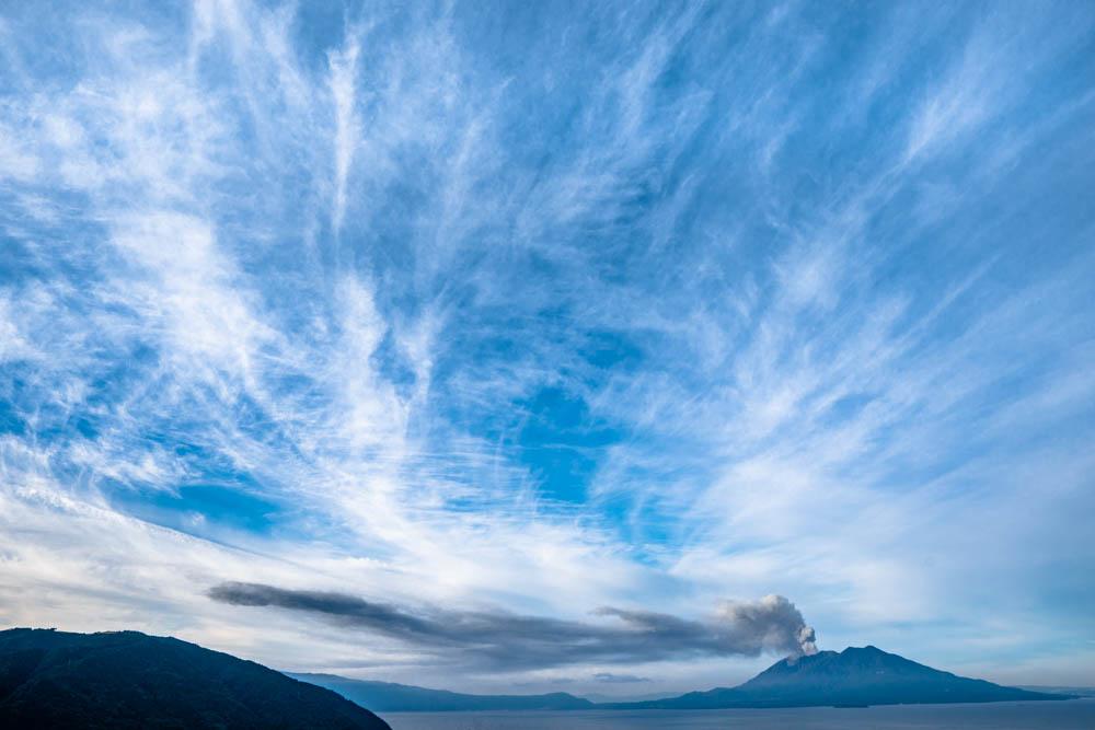 中茶屋公園から見る秋の雲