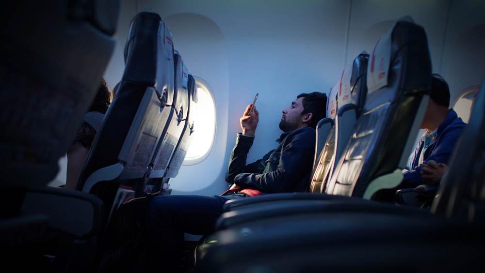 飛行機で疲れない方法【座り方】