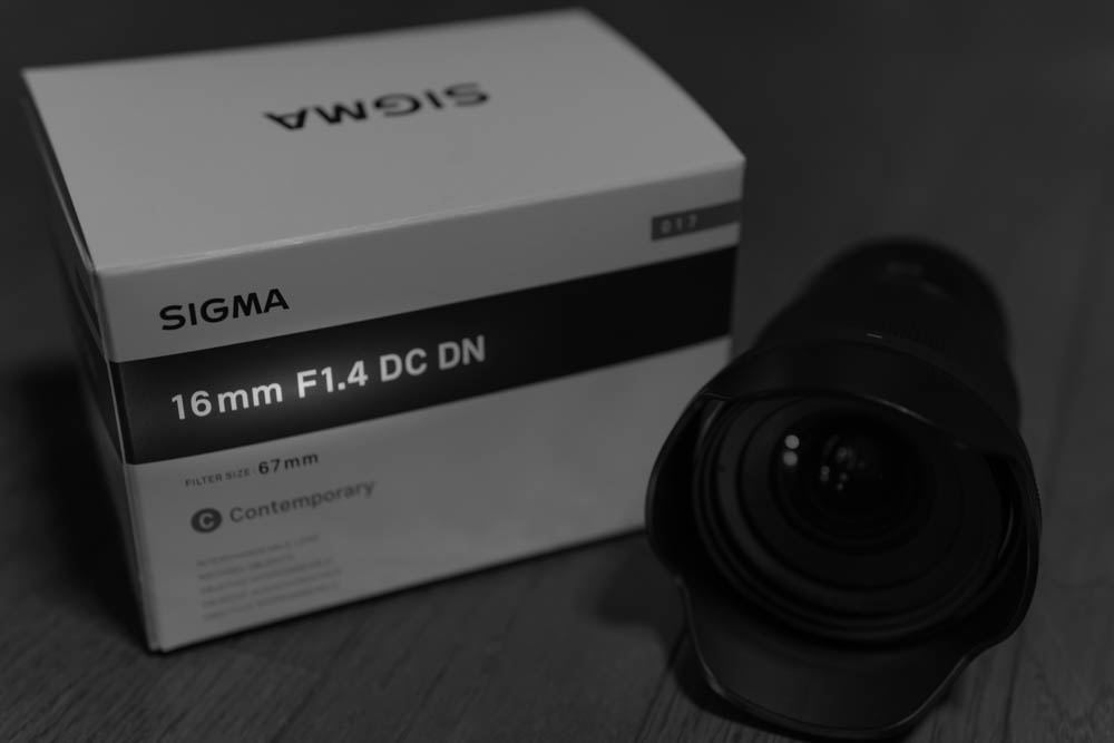 SIGMA 16mm f1.4 DC DN for SONY E-mount