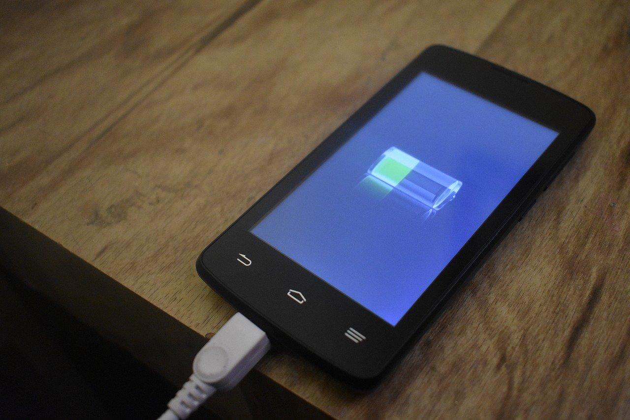 ソーラー充電式モバイルバッテリー