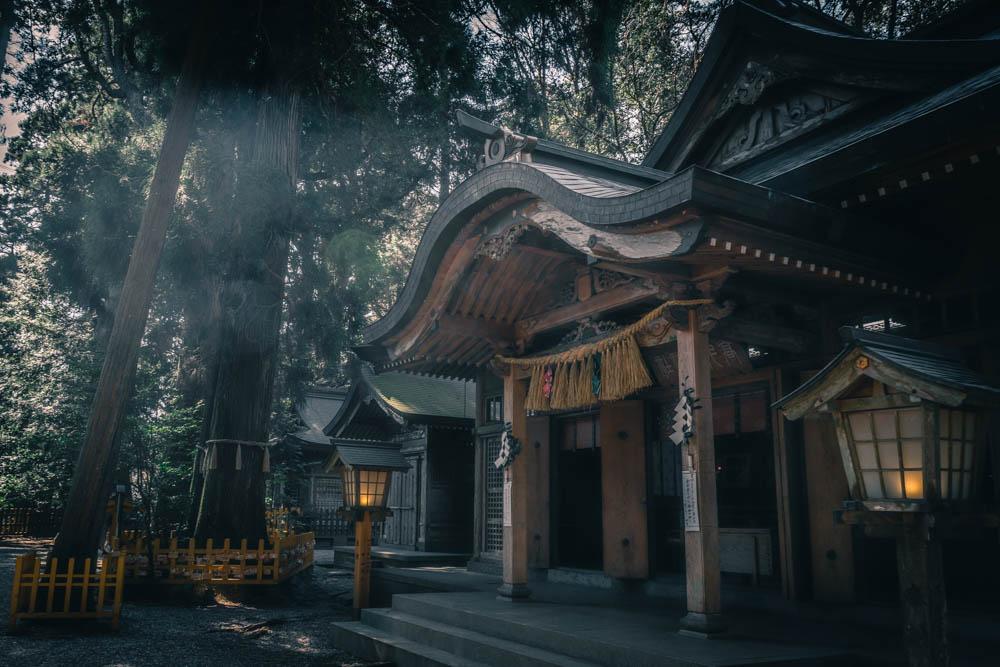 SIGMA 16mmで撮影した高千穂神社