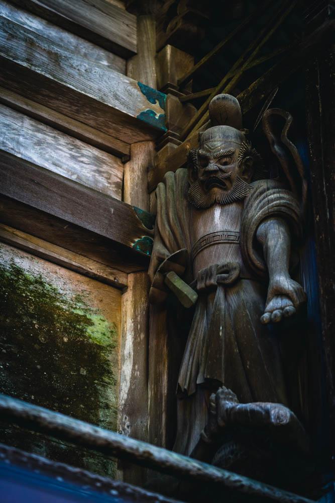 SIGMA 56mm 高千穂神社 装飾