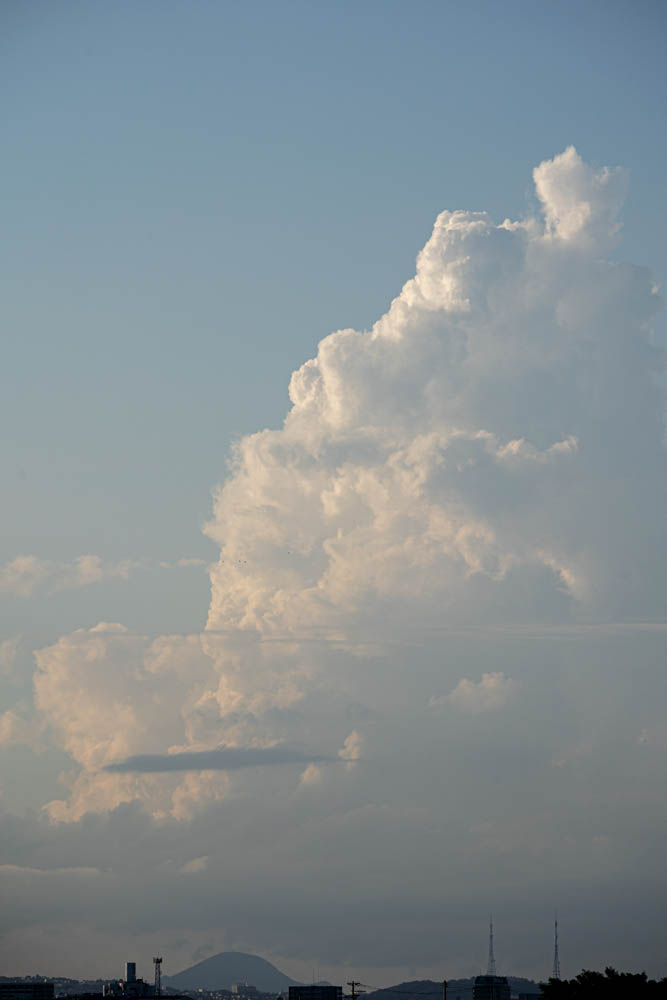 α7ⅲとSIGMA 100-400で撮影した大きな雲