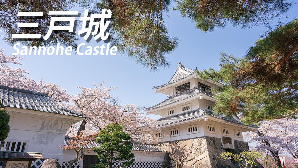 三戸城山公園へ行くなら桜の季節。写真やアクセスを紹介