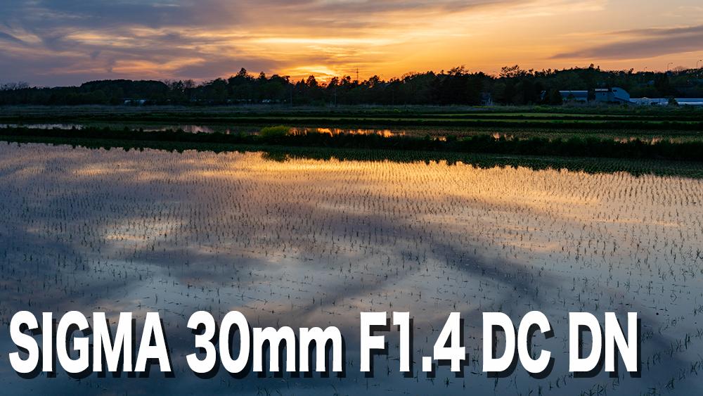 SIGMA 30mm F1.4 DC DNをレビュー